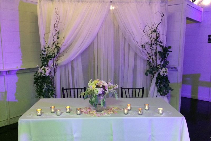 Reception Rentals Setup And Decorating For Your Reception