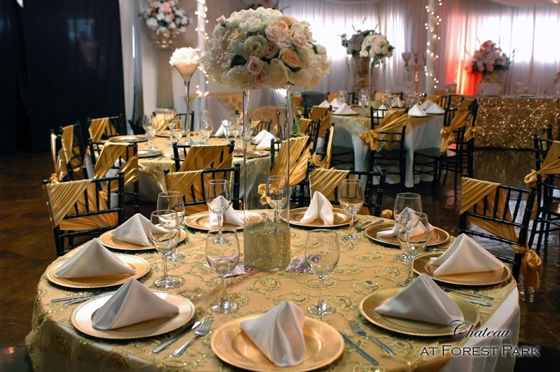 quinceanera celebration - banquet hall - 7126