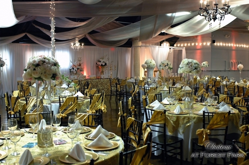 quinceanera celebration - banquet hall - 7127
