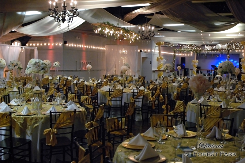 quinceanera celebration - banquet hall - 7128
