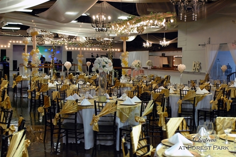 quinceanera celebration - banquet hall - 7130