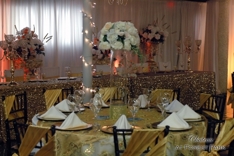 quinceanera celebration - banquet hall - 7132