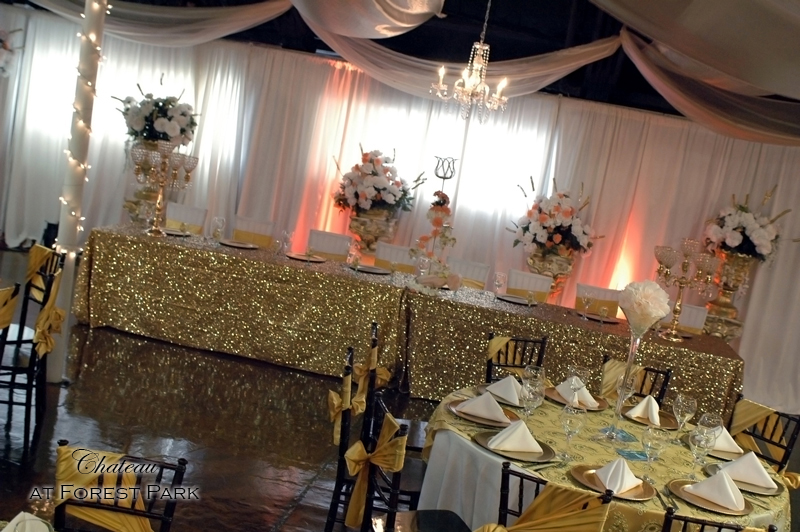 quinceanera celebration - banquet hall - 7133
