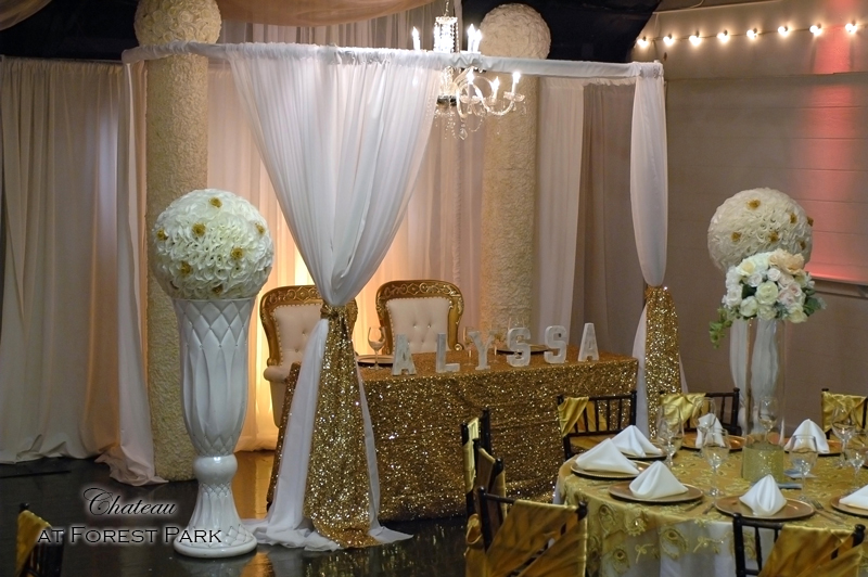 quinceanera celebration - banquet hall - 7134