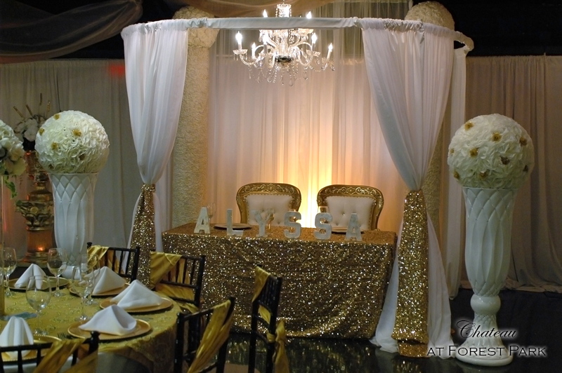 quinceanera celebration - banquet hall - 7135