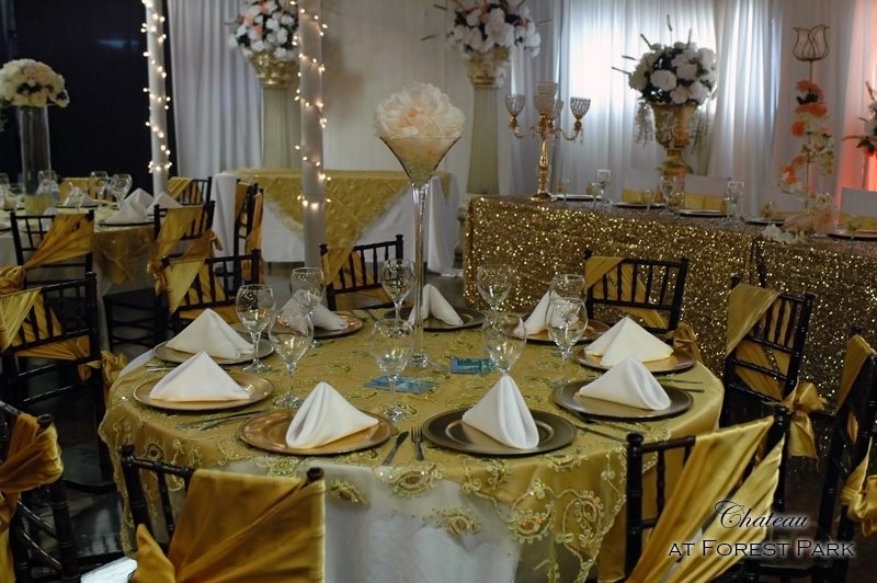 quinceanera celebration - banquet hall - 7136