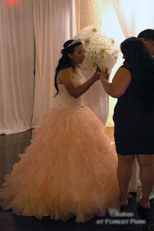 quinceanera celebration - banquet hall - 7140