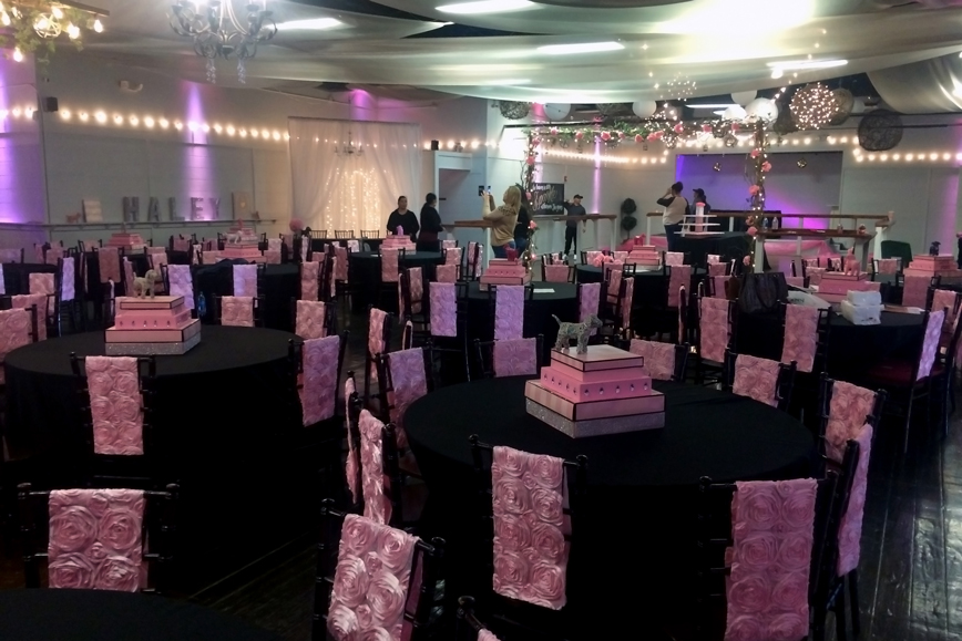 quinceanera celebration - banquet hall - 7142