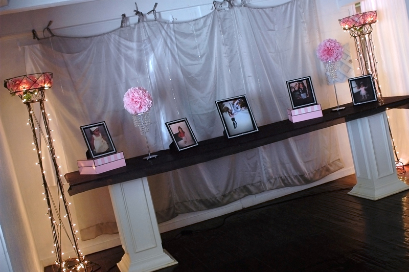 quinceanera celebration - banquet hall - 7144