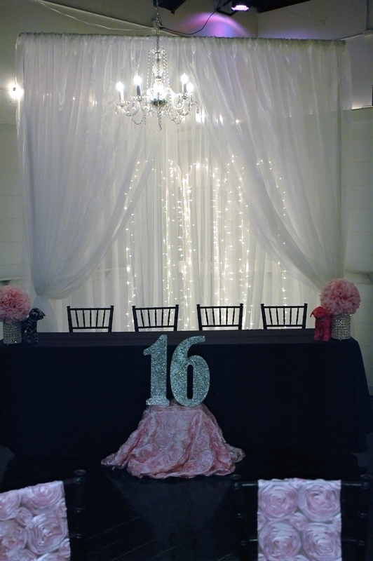 quinceanera celebration - banquet hall - 7146