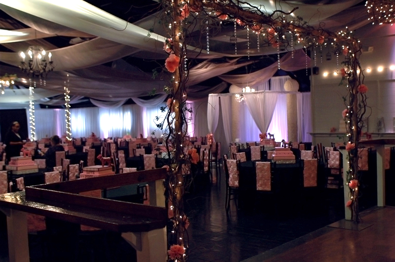 quinceanera celebration - banquet hall - 7150