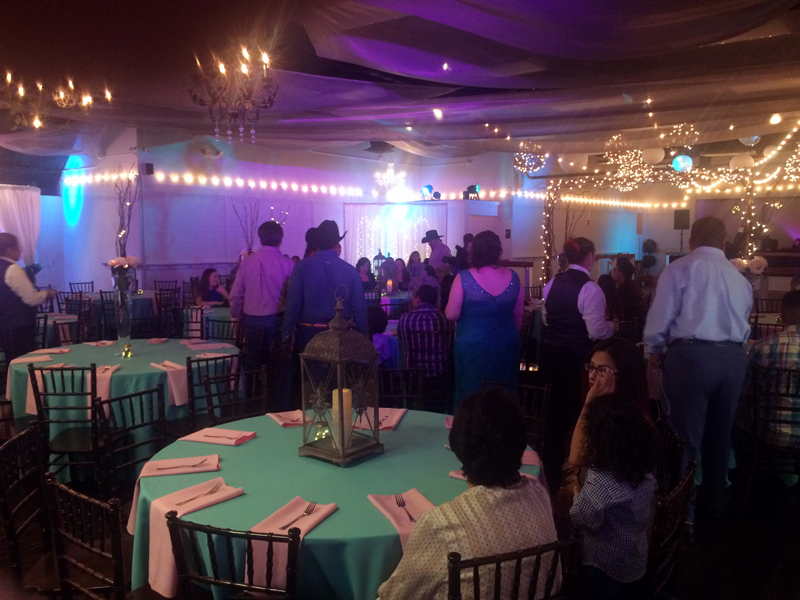 quinceanera celebration - banquet hall - 7159