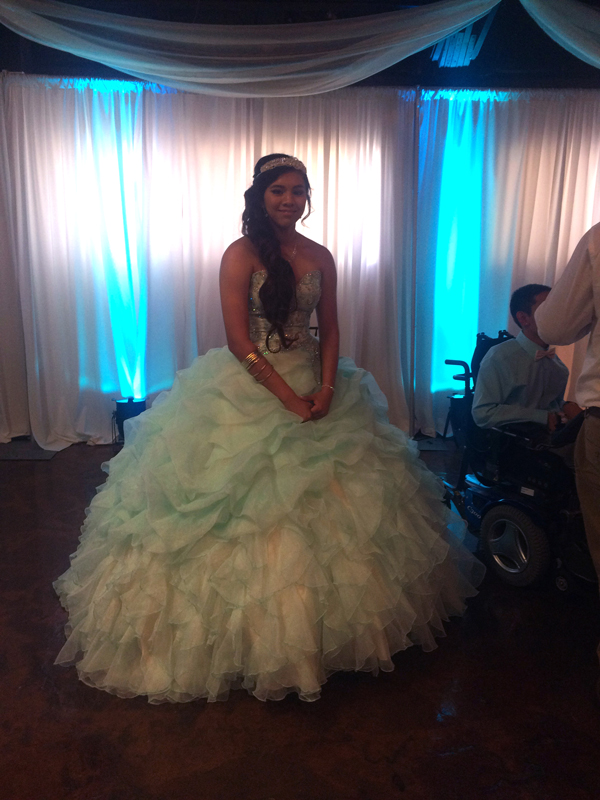 quinceanera celebration - banquet hall - 7160