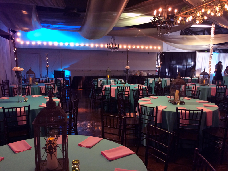quinceanera celebration - banquet hall - 7161