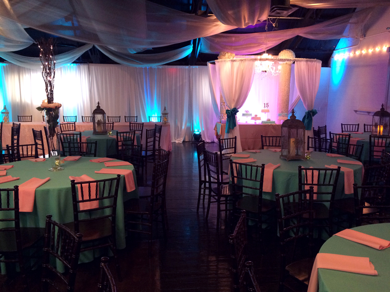 quinceanera celebration - banquet hall - 7162