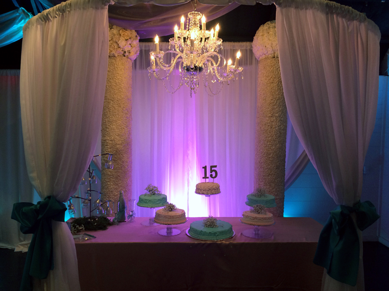 quinceanera celebration - banquet hall - 7164