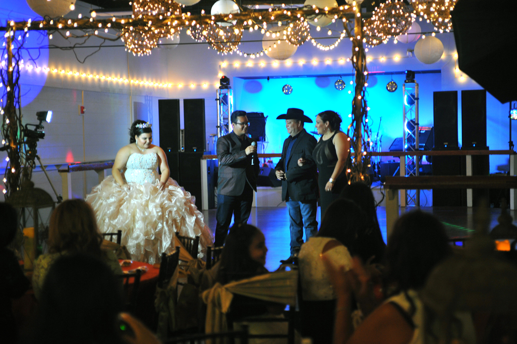 quinceanera celebration - banquet hall - 7170