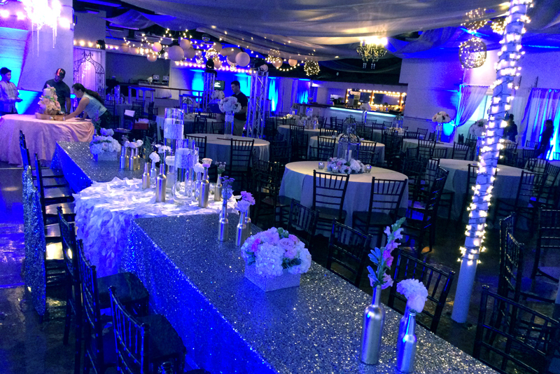 quinceanera celebration - banquet hall - 7173