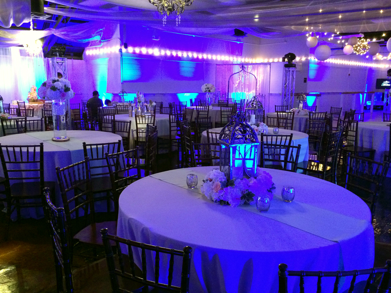 quinceanera celebration - banquet hall - 7175