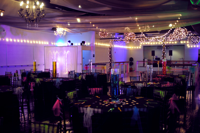 quinceanera celebration - banquet hall - 7180