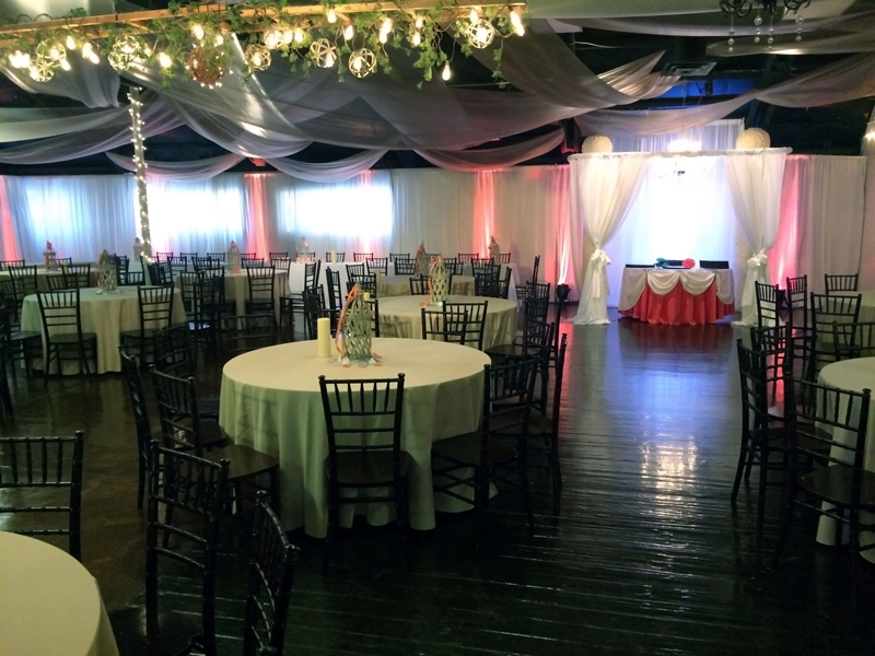 quinceanera celebration - banquet hall - 7193