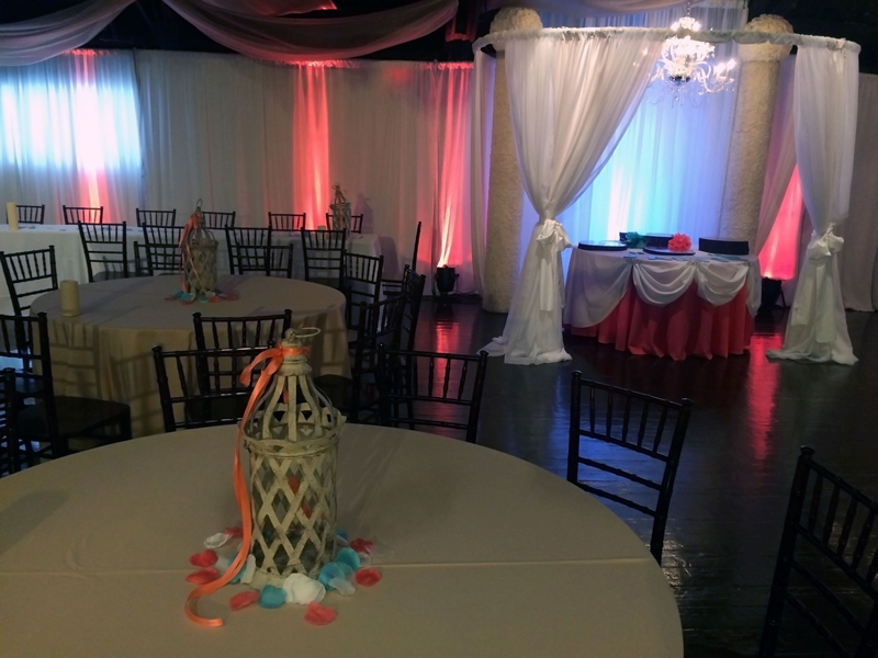 quinceanera celebration - banquet hall - 7195