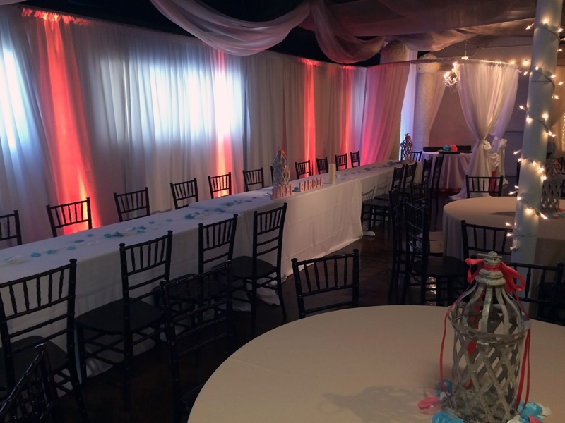 quinceanera celebration - banquet hall - 7196