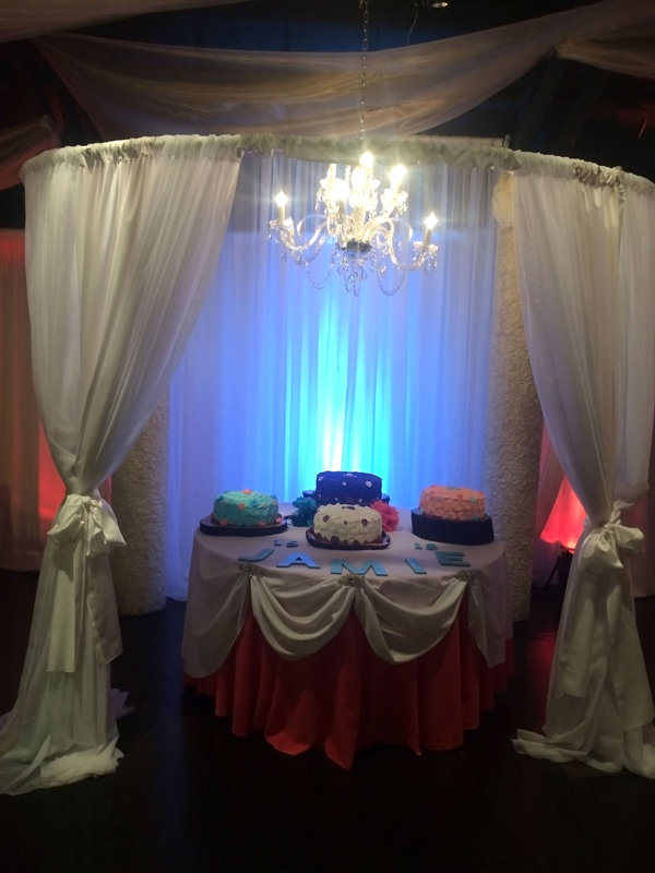 quinceanera celebration - banquet hall - 7199