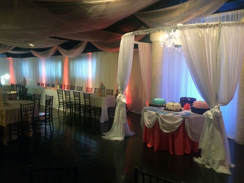 quinceanera celebration - banquet hall - 7200