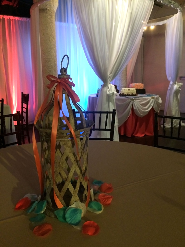 quinceanera celebration - banquet hall - 7202