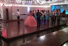 quinceanera celebration - banquet hall - 7204