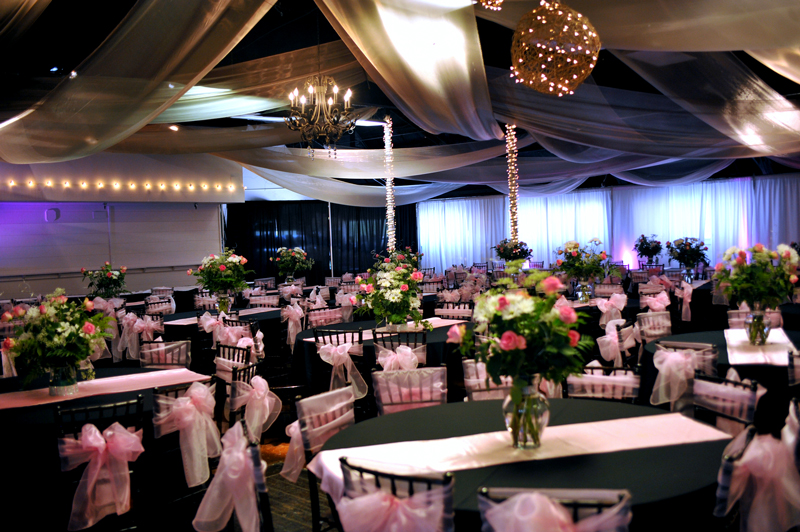quinceanera celebration - banquet hall - 7205