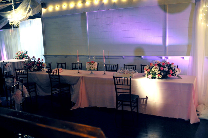 quinceanera celebration - banquet hall - 7208