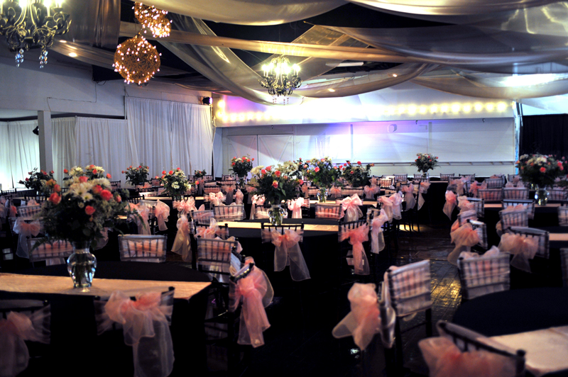 quinceanera celebration - banquet hall - 7209