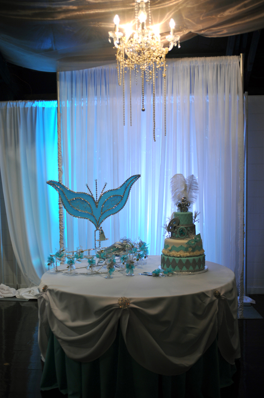 quinceanera celebration - banquet hall - 7210