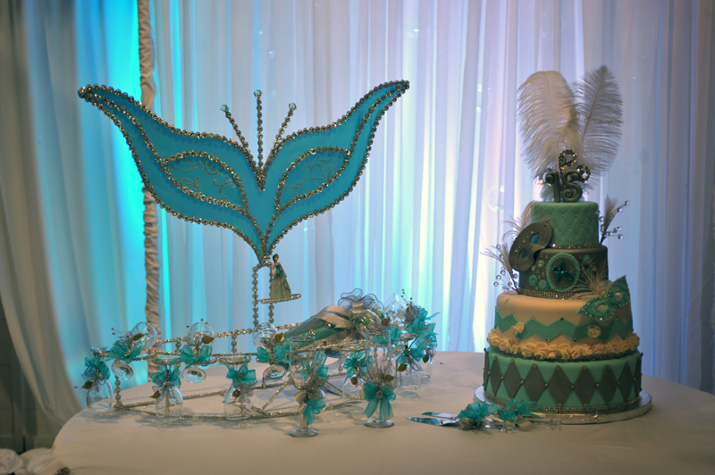 quinceanera celebration - banquet hall - 7211
