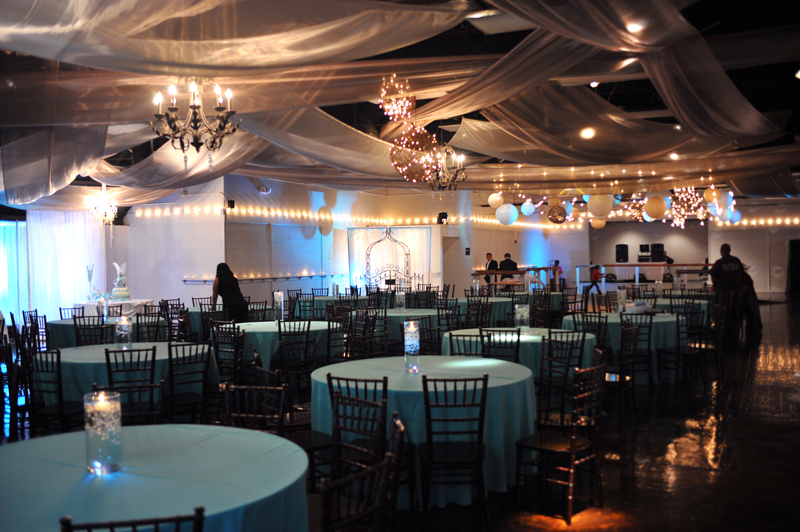 quinceanera celebration - banquet hall - 7215