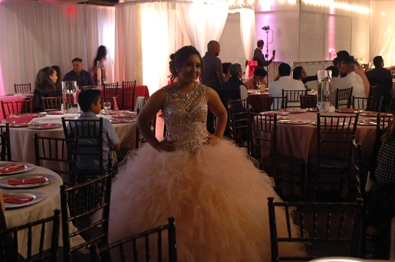 quinceanera celebration - banquet hall - 7222