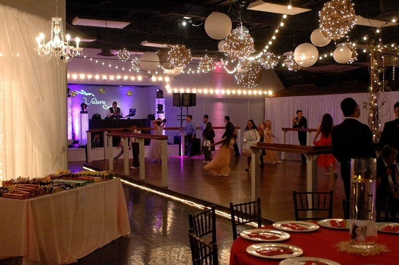 quinceanera celebration - banquet hall - 7228