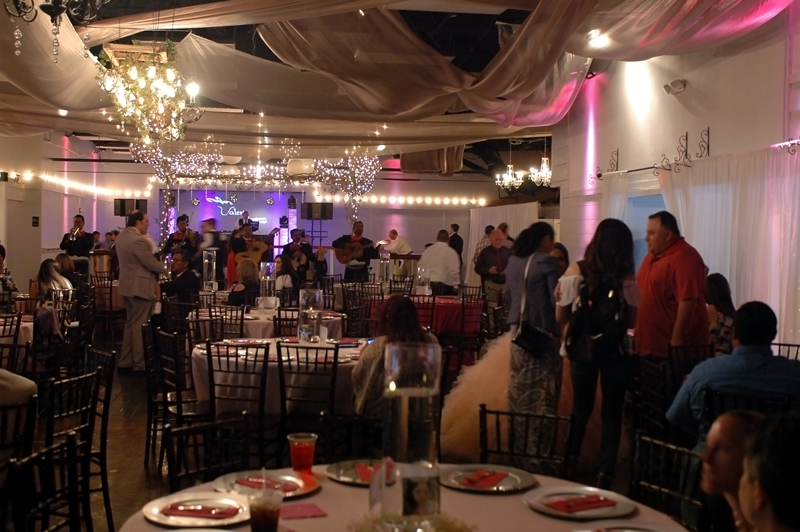quinceanera celebration - banquet hall - 7229