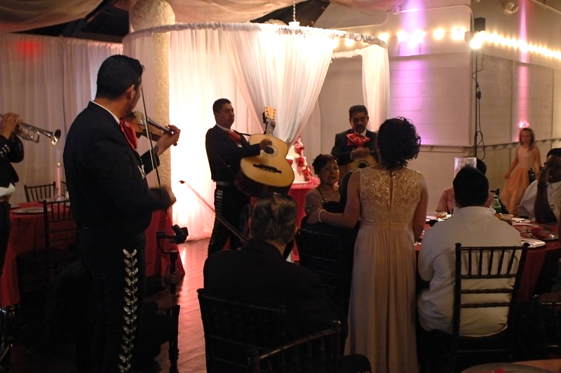 quinceanera celebration - banquet hall - 7231