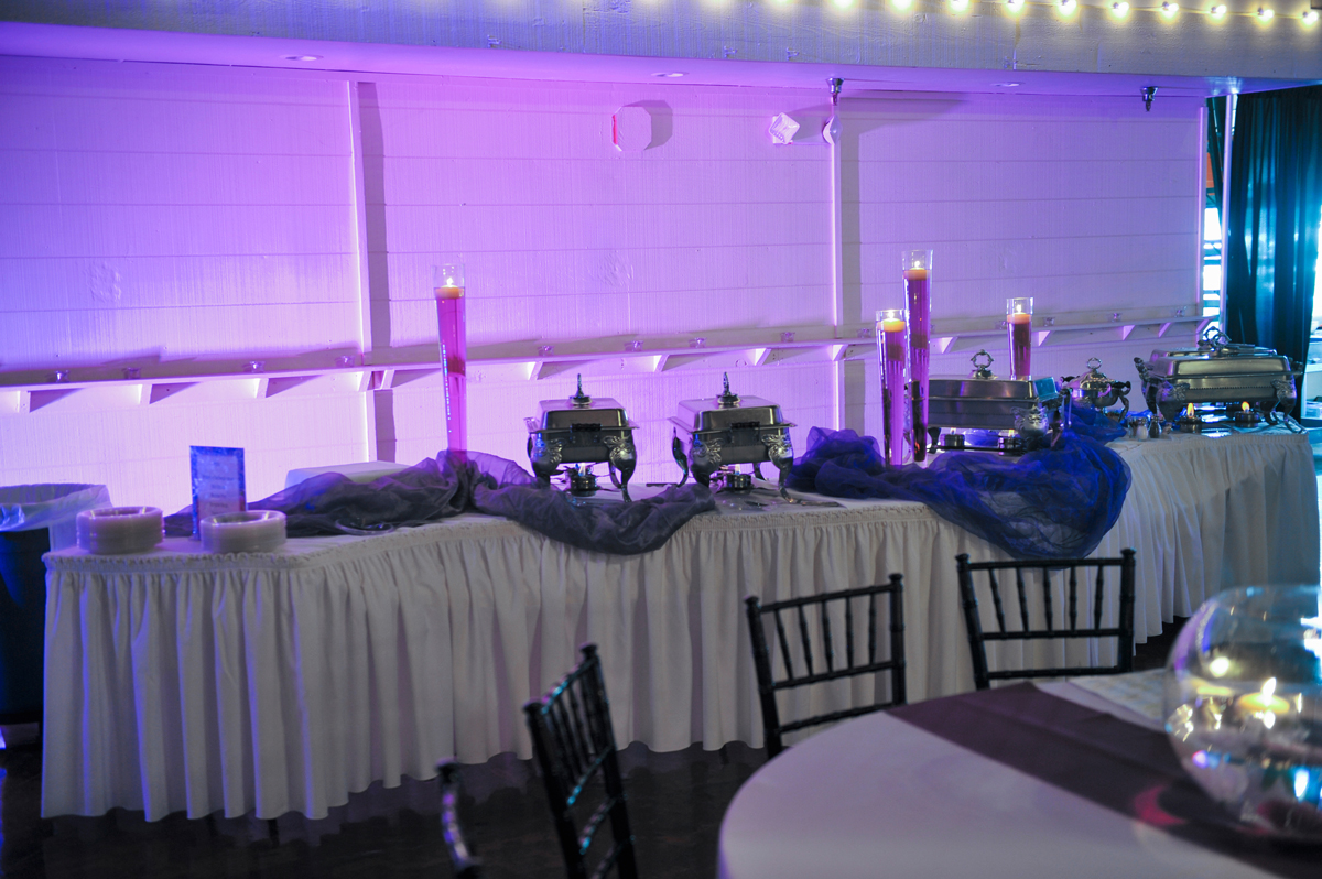 quinceanera celebration - banquet hall - 7234