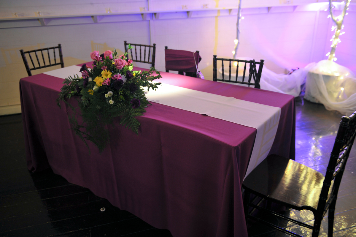 quinceanera celebration - banquet hall - 7235