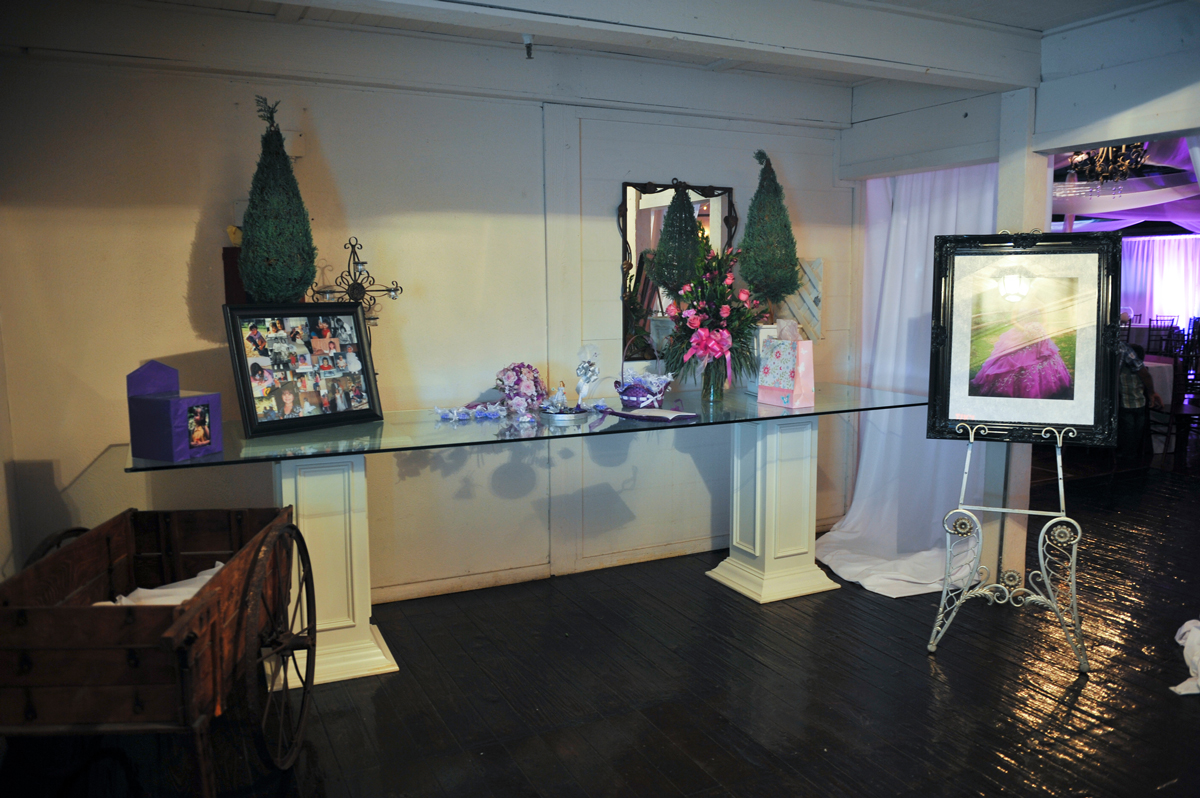 quinceanera celebration - banquet hall - 7238