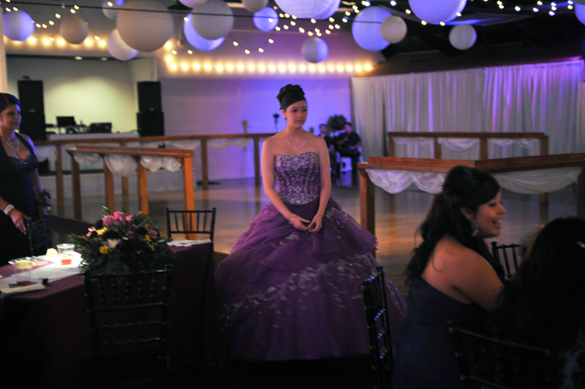 quinceanera celebration - banquet hall - 7240