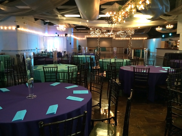 quinceanera celebration - banquet hall - 7243