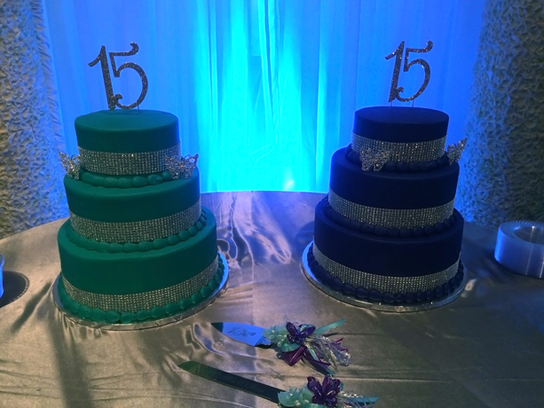 quinceanera celebration - banquet hall - 7244