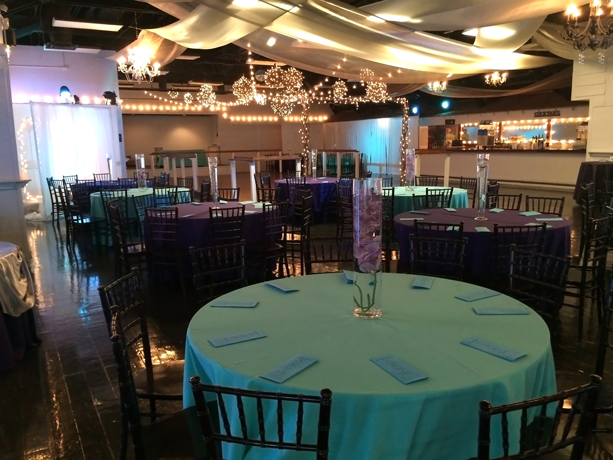quinceanera celebration - banquet hall - 7245