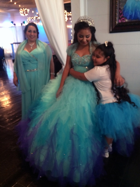 quinceanera celebration - banquet hall - 7249