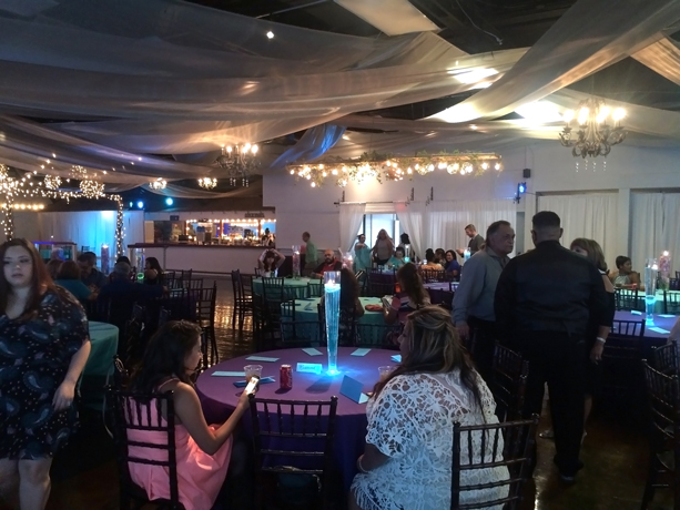 quinceanera celebration - banquet hall - 7251